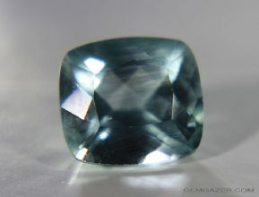Amblygonite,  greenish-blue faceted, Brazil.  5.78 carats. ** SOLD **
